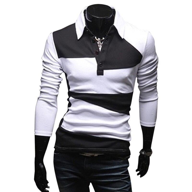 Zogaa Casual Floral Polo Shirts Men's Polo Shirt Clothes Men Tenis Polo Brand Long Sleeve Casual Polo Shirt Men Collar Shirts