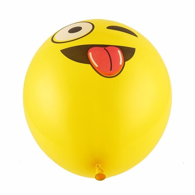 100 Pcs Emoji Balloons