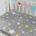 17 Color Printed Cotton Crib Baby Bed Mattress Cover Smooth  Comfortable Cot Bed Li Decorations Bed Sheet