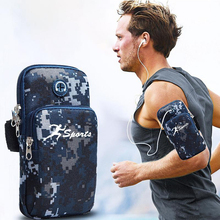 Mobile Phone Arm Bag Outdoor Sports Phone Holder Multi-functional Breathable Arm Case Holder Armband for Running ocean pattern multi functional phone holder