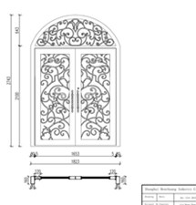 Wrought Iron Entry Doors With Sidelights Fiberglass Wrought Iron Entry Doors