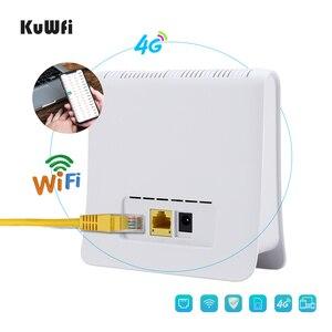 Image 3 - Desbloqueado 300mbps wifi roteador 4g lte cpe roteador móvel sem fio com lan porta sim cartão solt