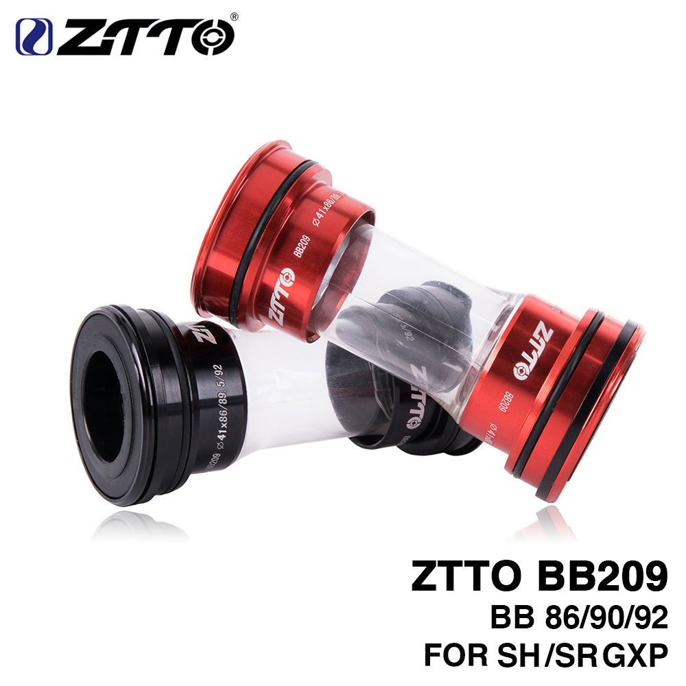 ZTTO BB209 Press Fit Bottom Brackets for BB92 BB90 BB86 Frame With 24mm Crankset chainset Compatible with GXP 22mm Road bike MTB