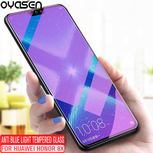 Anti Blue Light Tempered Glass For Huawei Honor 8X Honor8X 9H Explosion-proof Screen Protector Film