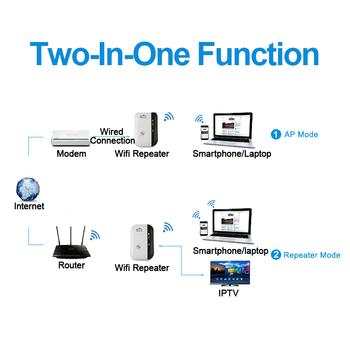 iMice Repeater WiFi Extender Wi Fi wzmacniacz bezprzewodowy 300M 802.11 n g b zakres sygnału Booster Reapeter punkt dostępowy Wi-Fi dla SOHO