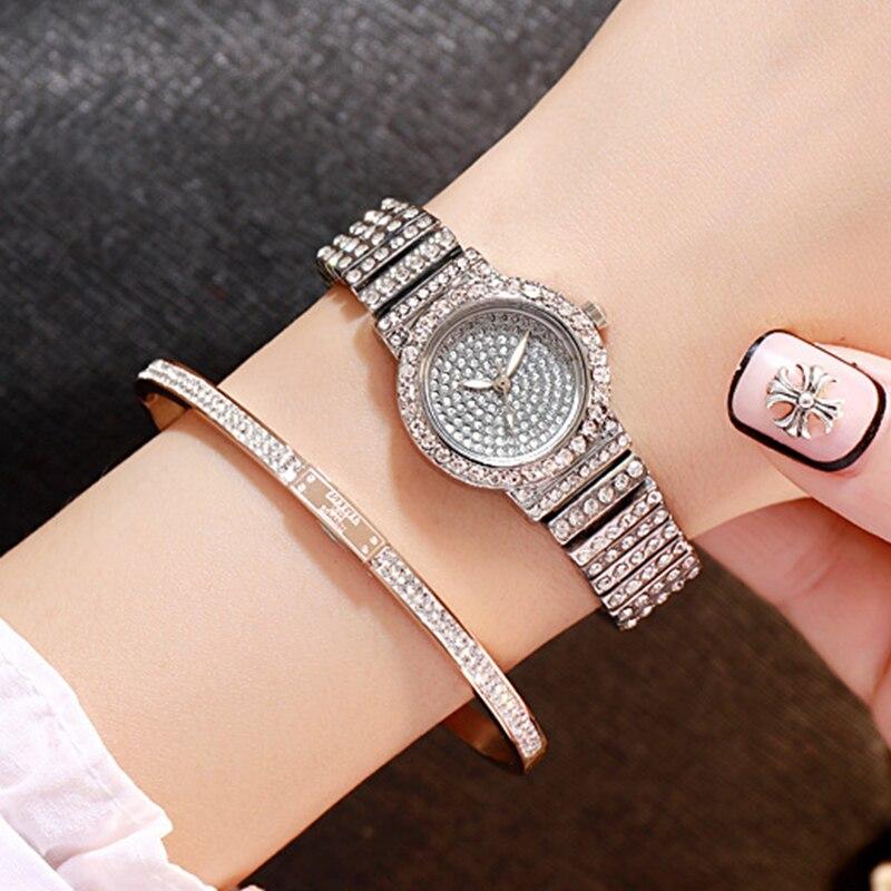 Las mujeres de lujo relojes de señoras magnético cielo estrellado cielo reloj de diamantes de moda mujer Watch in Women 39 s Watches from Watches