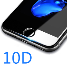 10D 9H Hardness Curved Edge Tempered Glass for iPhone 6 Glass iPhone 7 Glass 6s X Plus Screen Protector For iPhone XR XS XSMAX