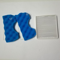 2 Sets Filter Cotton 1pcs Filter Suitable For Samsung VCA VM HEPA Filter 45P VM 45P