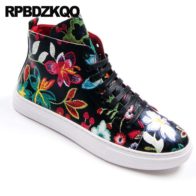 Sneakers Flor Hop Negro Impresos Pisos white Ascensor Negro Floral Patín  Zapatos Elevator black 2018 Blanco ... 5380acc4f8b