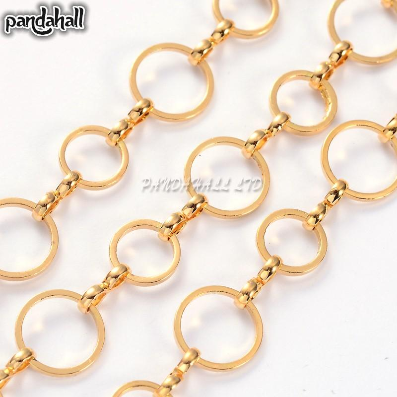 from fashion fashioon item color for chains wholesale plated jewelry brass chain bulk women necklace gold diy men making necklaces in
