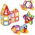 109 ШТ. Сплошной цвет Магнитный Конструктор Construction Set Модели и Строительные Игрушки Пластиковые Магнитные Блоки Образовательные Игрушки Для Детей