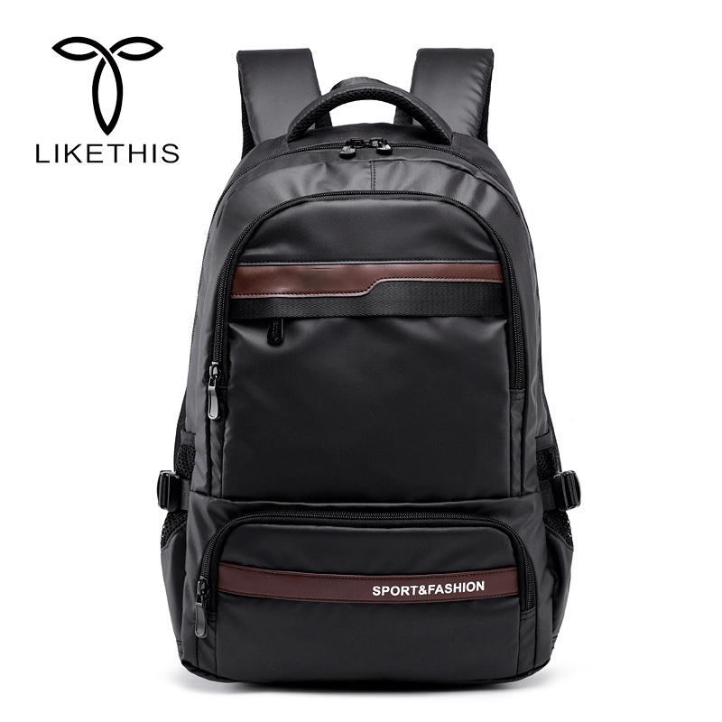 2018 Backpack Men Waterproof USB Charging Rucksacks School Bag For Teenagers Casual Zipper Laptop Backpack Male Travel