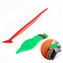 FOSHIO 2pcs Car Sticker Corner Decorate Scraper Auto Window Tint Microfiber Cloth Micro Squeegee Vinyl Wrap Stick Tuck Tools