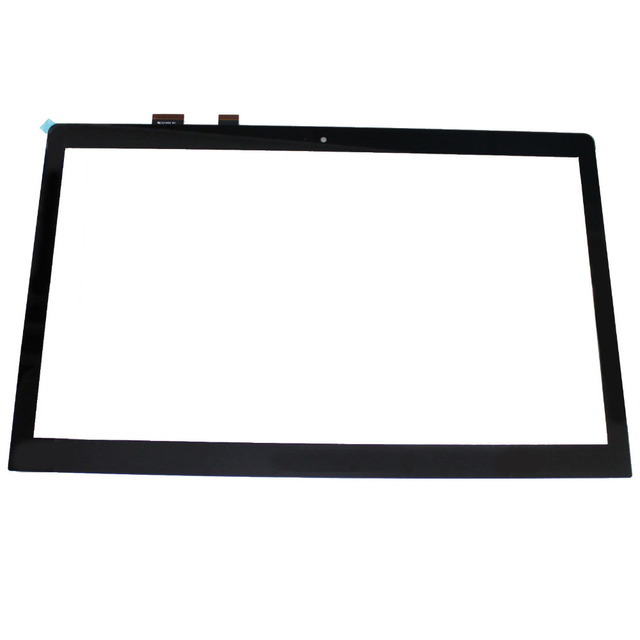 15.6\'\' Touch Screen Digitizer Glass Panel Replacement With Bezel ...