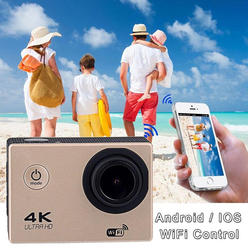 Nuevas Llegadas Ultra HD 4 K Wi-Fi 30 m Impermeable 130 Lente Gran Angular Pro C