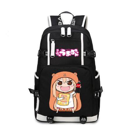 High Q Anime Himouto! Umaru-chan casual nylon unisex cosplay backpack for teenagers giftHigh Q Anime Himouto! Umaru-chan casual nylon unisex cosplay backpack for teenagers gift