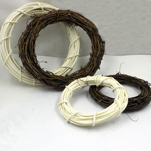 100/150mm Dream Catcher Reve Wood Circle Rattan Rings Findings Hanging Round Cercle Pour Attrape Reve Net Jewelry DIY Wreath