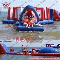 Коммерческих надувные аквапарки для озера и бассейн парк развлечений