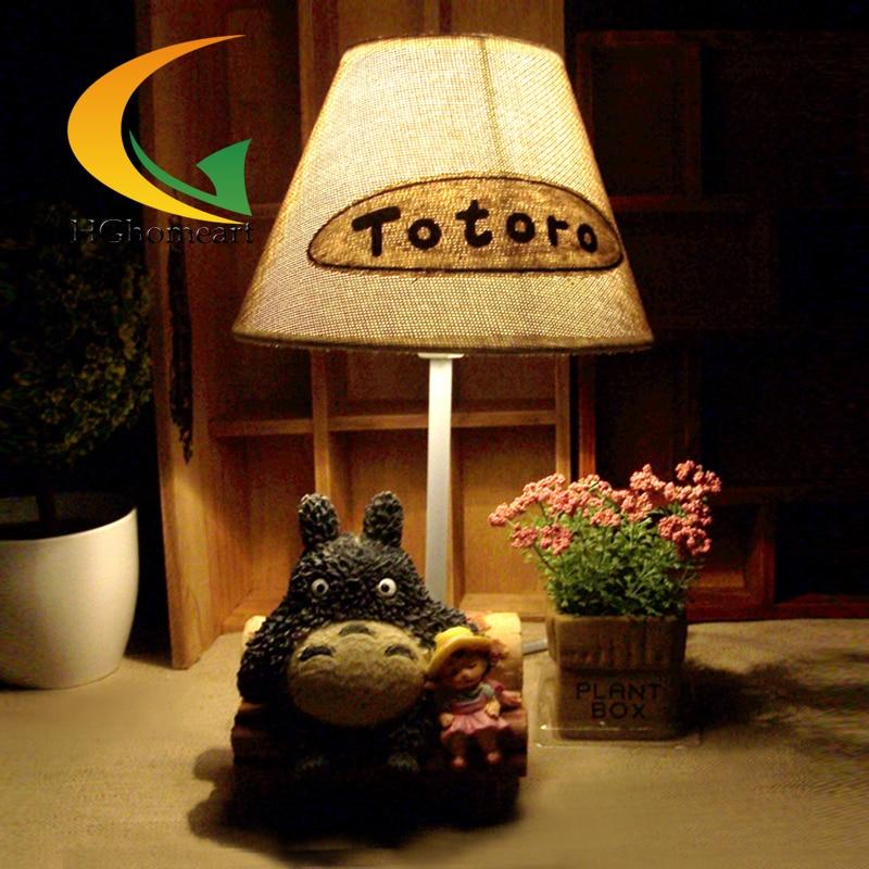 cartoon bedroom bedside desk lamp night light lamps creative gifts. Black Bedroom Furniture Sets. Home Design Ideas