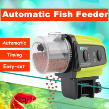 Digital LCD Automatic Aquarium Fish Feeder Fish Tank Timer Auto Feeder Aquarium Feeding Device For Shrimp Turtle Fish Food