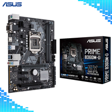 Asus PRIME B360M-D Desktop Motherboard Intel B360 Chipset Socket LGA 1151 Motherboard Support 8th Gen Core I7 I5 I3