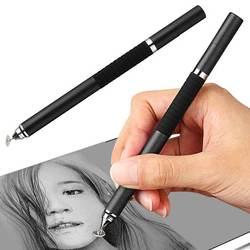 Nowy długopis 2 w 1 rysik metalowy pojemnościowy długopis do ekranów dotykowych iPhone iPad Tablet DOM668