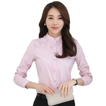 Blusa Women Long Sleeve Shirt Female Slim Spring New Fashion Womens Tops and Blouses