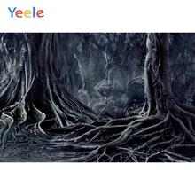 Yeele Halloween Party Forest Root Customized Horror Photography Backdrop Personalized Photographic Backgrounds For Photo Studio