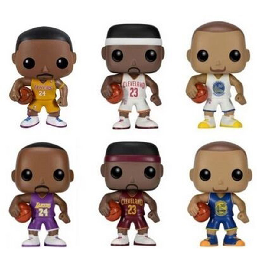 6 Types 10cm With Original Box Funko Pop Official Lebron