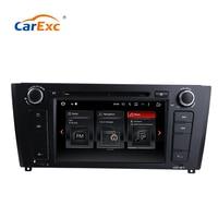 CarExc Android 9.0 OS For BMW E81 E82 E88 120I Car DVD Player With GPS Navigation System WiFi Bluetooth USB SD Radio Multimedia