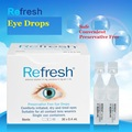 Australia Refresh Preservative Free Safe Eye Drops 2PCS Comfort irritated, dry &tired eyes Suitable for all contact lens wearers