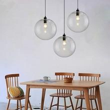 Bar Glass Pendant Light Kitchen Modern Pendant Lighting Fixtures Bedroom Hotel Pendant Lights Home Pendant Ceiling Lamp