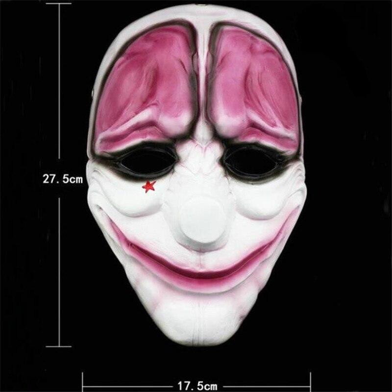 halloween clown Dallas/Wolf/Chains/Hoxton Mask 4