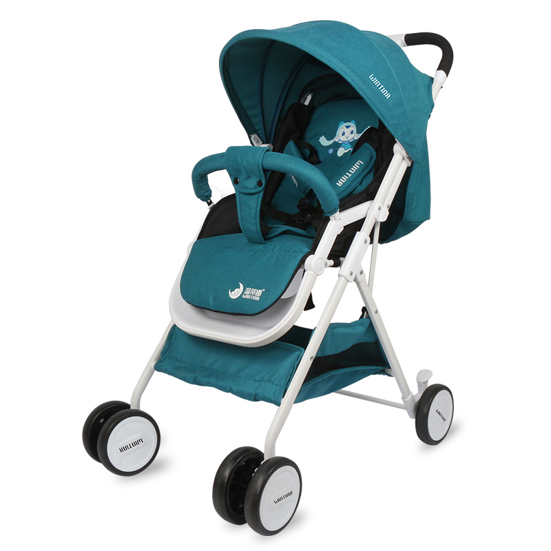 High Landscape Baby stroller Can Sit In A Portable And Portable Baby  Child's One-way Baby Cart