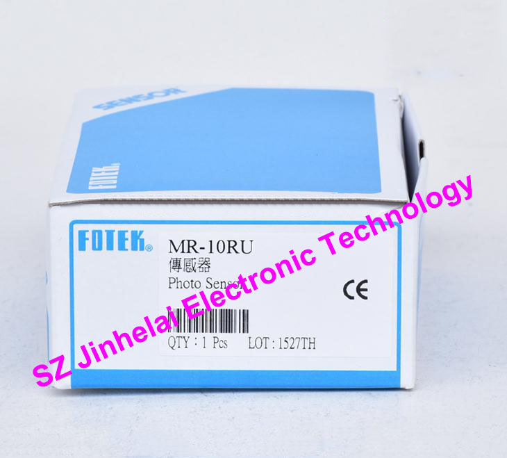 100% New and original FOTEK Photoelectric switch  MR-10RU   NPN 100% new and original fotek photoelectric switch mr 60x npn output