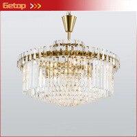 Neo Classical Fashion Crystal Chandelier Europe Post Modern Minimalist Creative Bedroom Restaurant Crystal Pendant Lighting