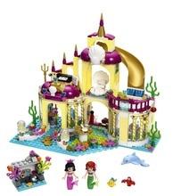 Bela 10436 Ariel s Undersea Palace The Mermaid Princess Castle Building font b Blocks b font