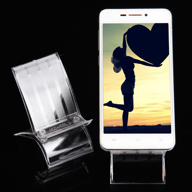 Wholesale 20 plastic clear view mob cell phone display mp4mp3 wholesale 20 plastic clear view mob cell phone display mp4mp3 stand holder af sciox Choice Image