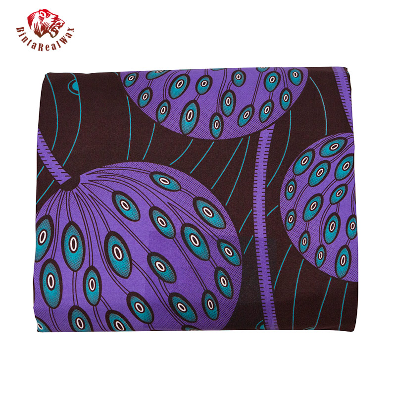 Image 3 - أقمشة أفريقية من البوليستر بطباعة شمع أنقرة لعام 2019 قماش بنتا حقيقي عالي الجودة بطول 6 ياردات قماش أفريقي للحفلات طراز FP6206النسيجالمنزل والحديقة -