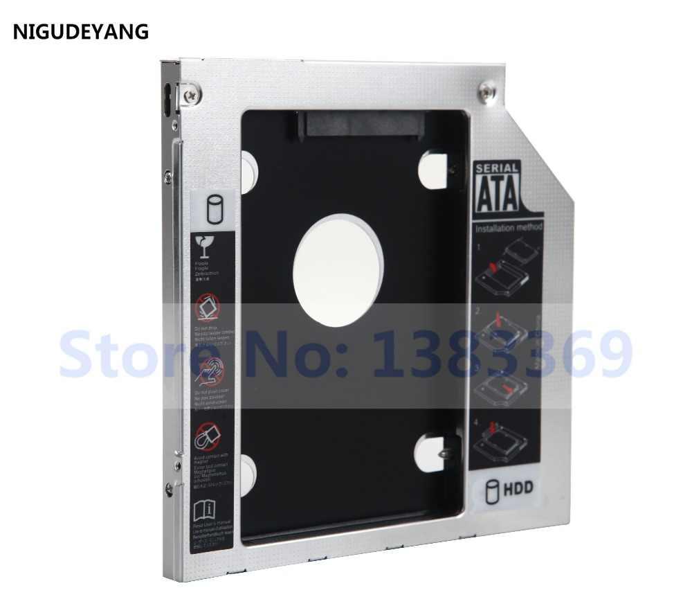 Nigudeyang 2nd sata disco rígido hdd ssd caddy adaptador para acer timelinex 4820tg-5454g32mn TS-U633F