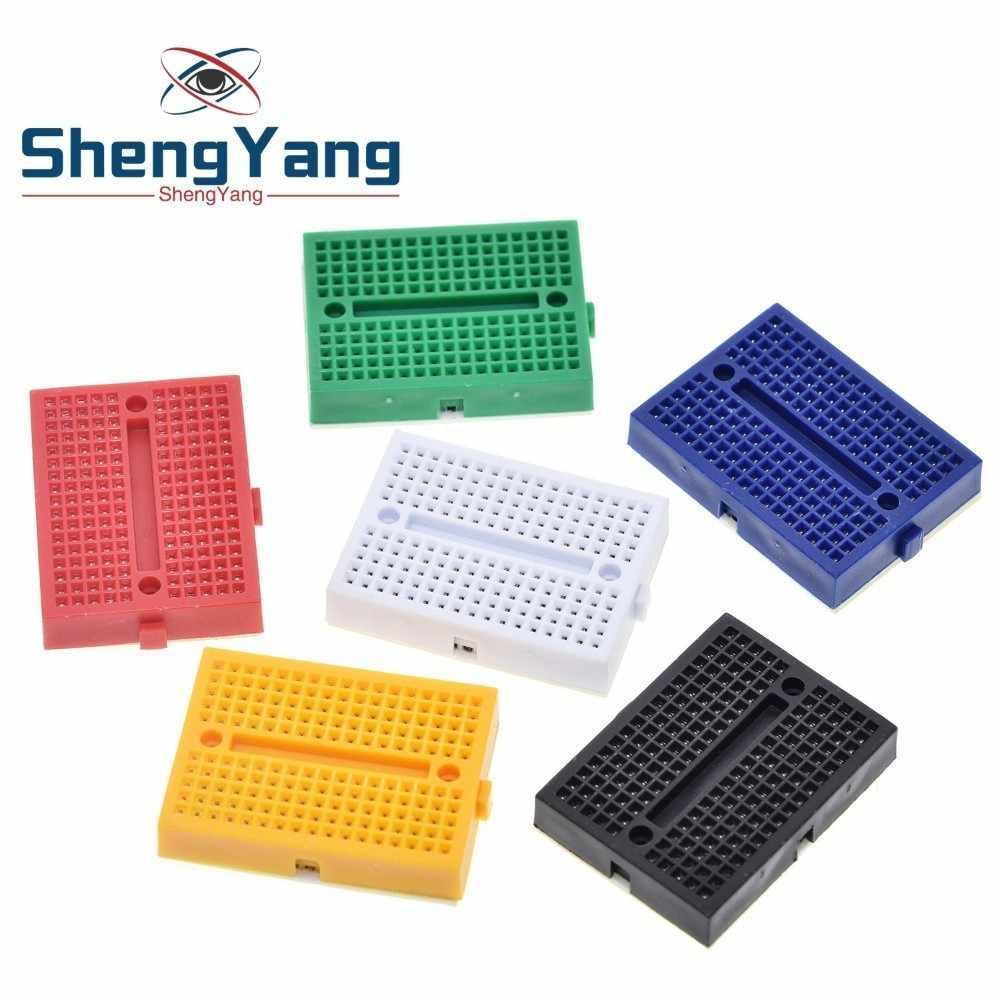 ShengYang SYB-170 Mini Prototype sans soudure expérience Test platine de prototypage 170 points de liaison 35*47*8.5mm