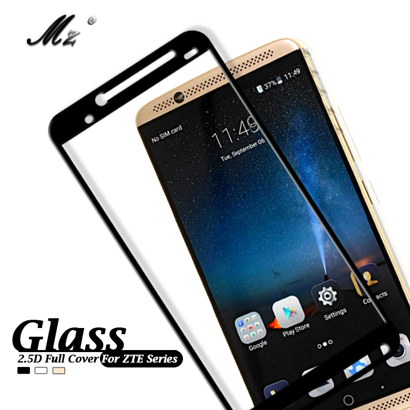 Protective Glass For ZTE Axon 7 Glass For ZTE Axon7 Nubia Z17 Mini Z11 Mini S Screen Protector Film Full Cover Z 17 11 mini Glas