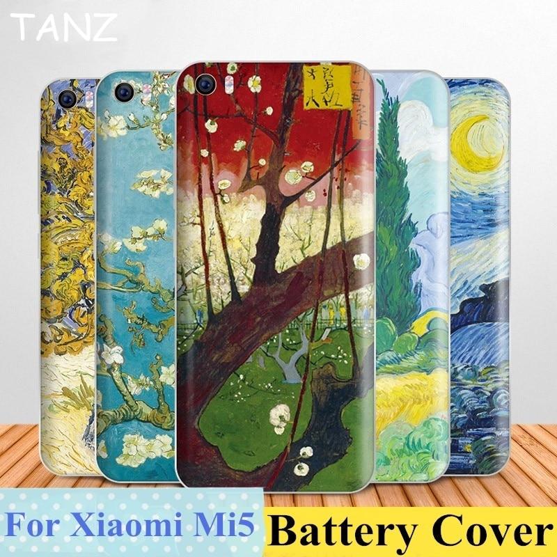 Fashion For XiaoMi Mi5 M5 5 Case Back Cover PC Rear Door Housing Replacement For xiaomi5 mi5 mi 5 (5.15inch) Funda Battery Cover