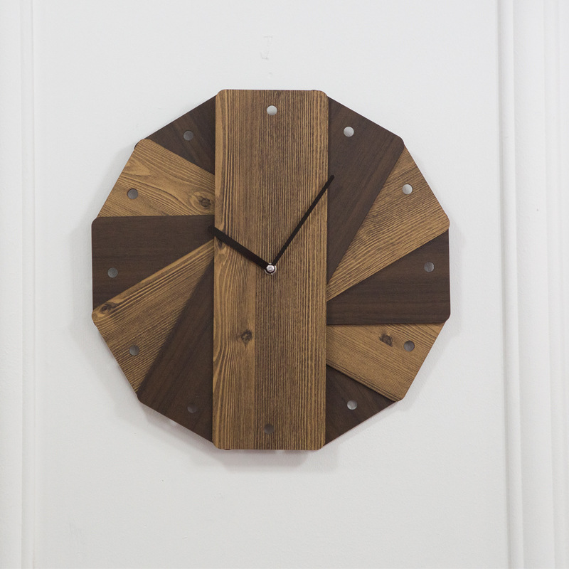 Creative European Wooden Wall Clock Design Retro Vintage Clocks Decorative Timer Wood Watch Home Decor Pendule Murale 50w266Creative European Wooden Wall Clock Design Retro Vintage Clocks Decorative Timer Wood Watch Home Decor Pendule Murale 50w266