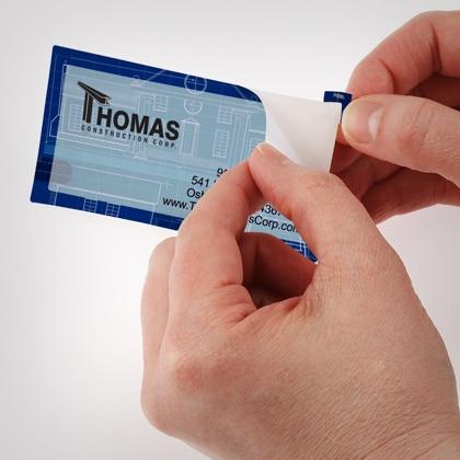 Online Shop 1000pcs Custom Waterproof Business Card Stickers 70 ...