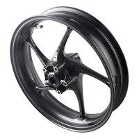 For Triumph Daytona 675R & Street Triple R Aluminum Motorcycle Front Wheel Rim 2013 2014 Motorbike Parts Accessories Matte Black