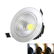 10X  Dimmable 5W/7W/9W/15W LED COB Downlight Light AC85-265V Cabinet Driver