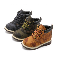 2018 New Boys And Girls Camo Boots EU 21 25 Toddler Kids Martin Boots British Beef