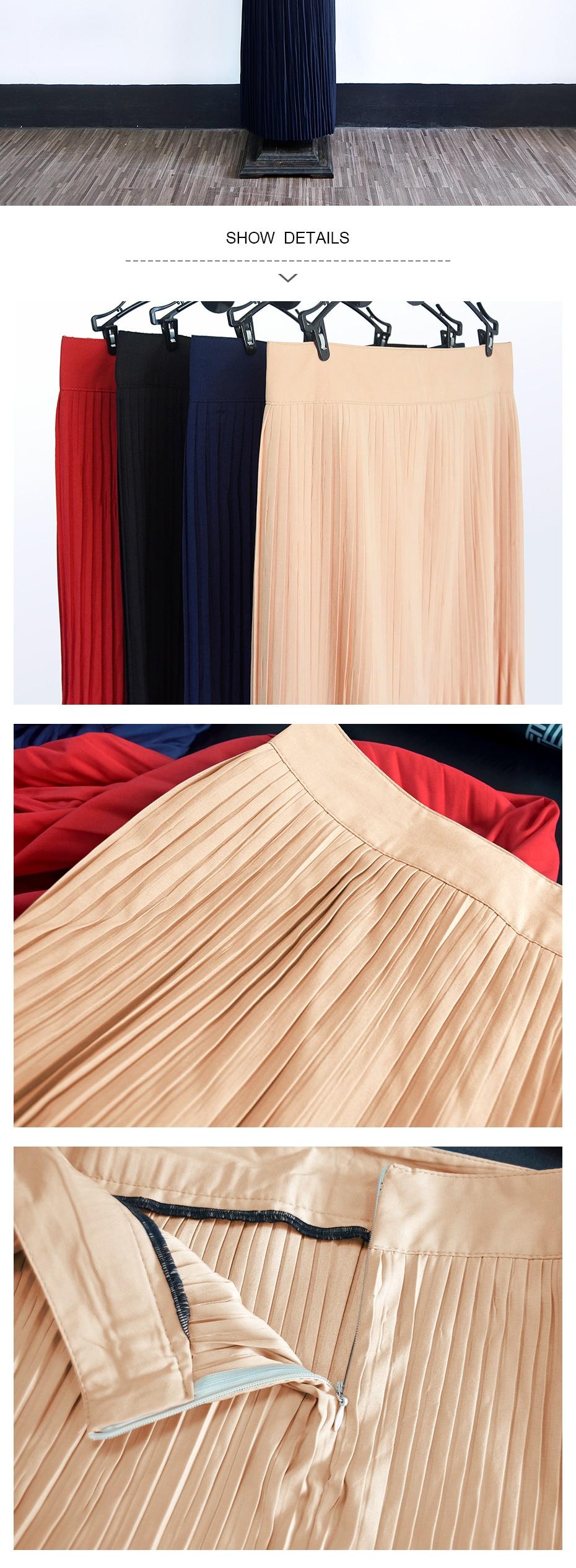 7ef83d3f6c New Fashion Long Muslim maxi skirt turkey arab clothing - Sabas Palace
