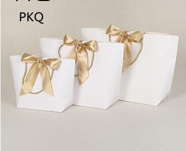 10pcs 21x7x17cm White Red Portable Wedding Party Gift Packaging